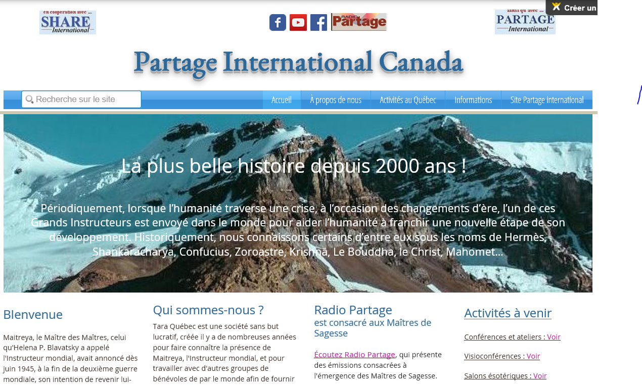 Partage International Canada